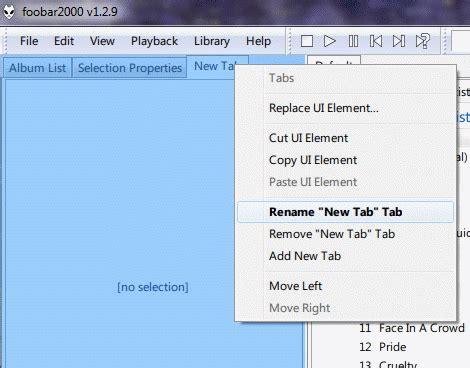 layout editing mode foobar foobar2000 gyorstalpal 243 zen 233 k 225 polgat 225 s 225 hoz scorchio blogja