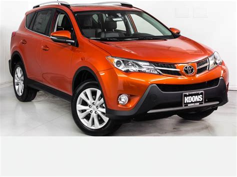 Toyota Of Orange Used Cars New 2015 Toyota Rav4 Limited For Sale In Westminster Md