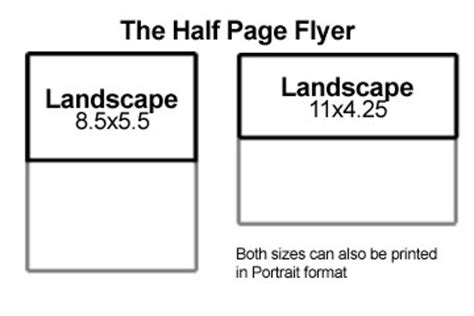 templates for half page flyers half page flyers pertamini co