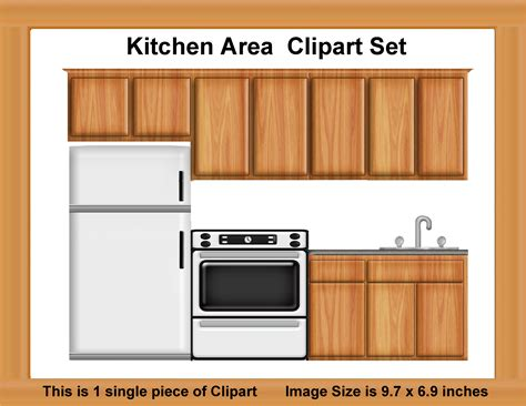 Simple Floor Kitchen Cabinet Clipart Clip Art Library