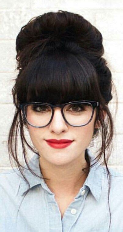 hairstyles nerd glasses hairstyles for girls with glasses her cus