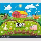Cartoon Farm Scene | 1500 x 1291 jpeg 557kB