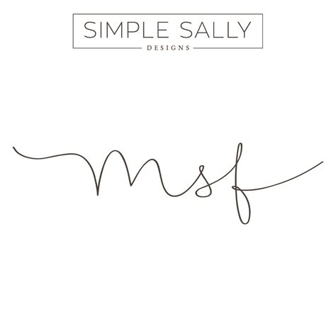 monogram tattoo designs initials for tattoos msf simple sally designs 187 simple