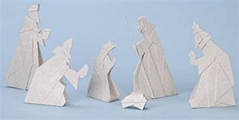 Origami Nativity - beginner s origami for projects and paper