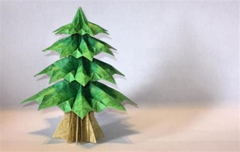 Origami Pine Tree - 1000 images about tree paper on