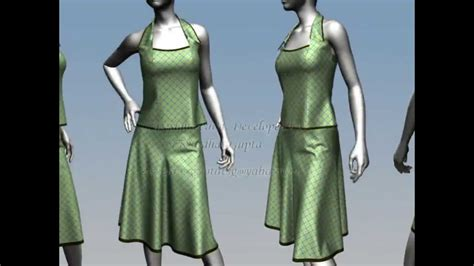 design clothes virtually virtual fashion design marvelous designer 3d designs youtube