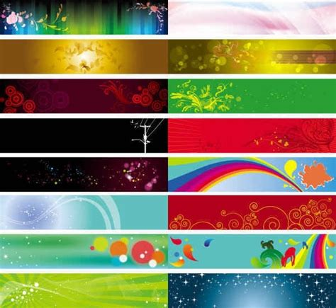 design large banner in illustrator banner background vector templates free vector in adobe
