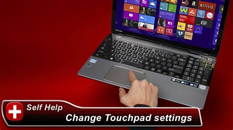 Touchpad Toshiba toshiba how to changing your touchpad settings