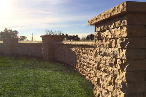 rosetta stone block retaining wall benson stone co rockford il