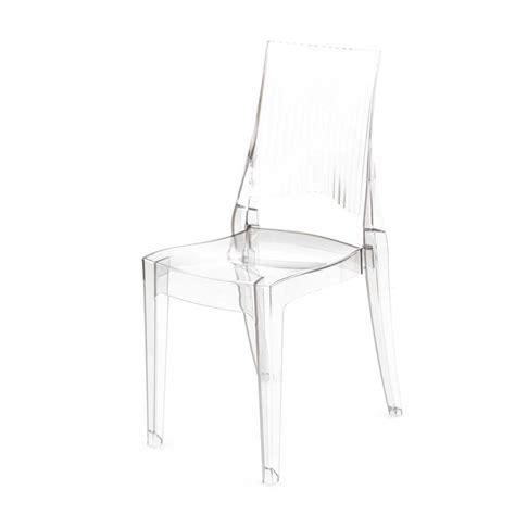 chaise design transparente chaise design transparente polycarbonate mooviin