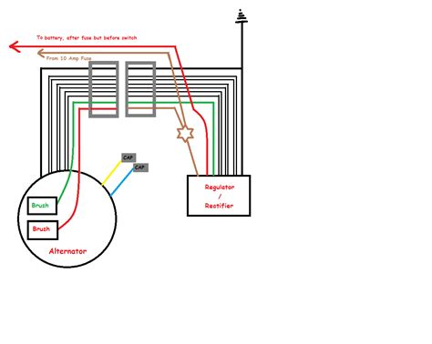 6 wire schematic yamaha rectifier wiring diagrams wiring