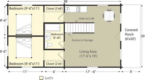 features of small cabin floor plans home constructions