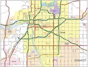 oklahoma road map oklahoma road map