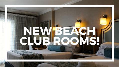 Disney Beach Club Floor Plan by New Rooms At Disney S Beach Club Resort Youtube