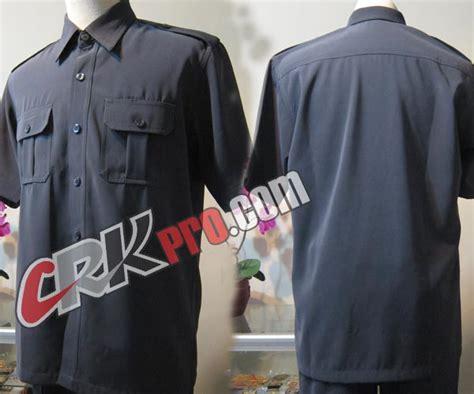 desain kemeja safari penjahit konveksi seragam satpam tailor pakaian security