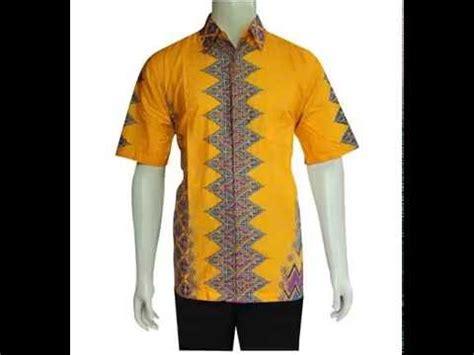 Kemeja Try model kemeja baju batik pria modern terbaru murah baju batik pria 576adc92
