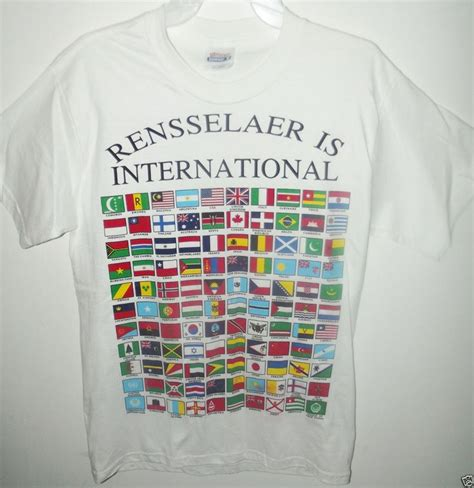 flags of the world t shirt rensselaer country flags of the world print t shirt men s