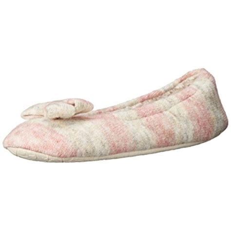 womens bedroom slippers ebay bedroom athletics 6170 womens katy knit flats slip on