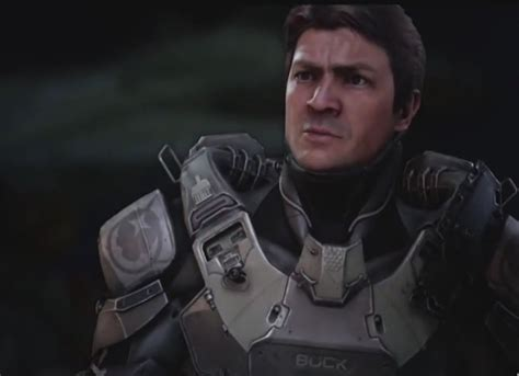 nathan fillion edward buck halo 5 guardians trailer teases new gameplay nathan