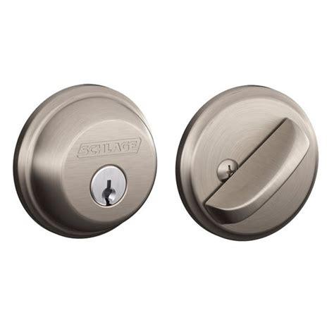 schlage patio door lock door deadbolts security chrome keyed patio