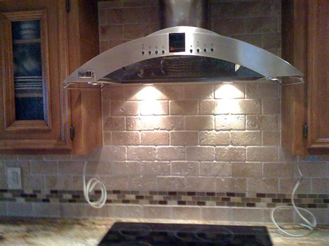 travertine and glass tile backsplash ragland tile interiors backsplash with 3x6 tumbled