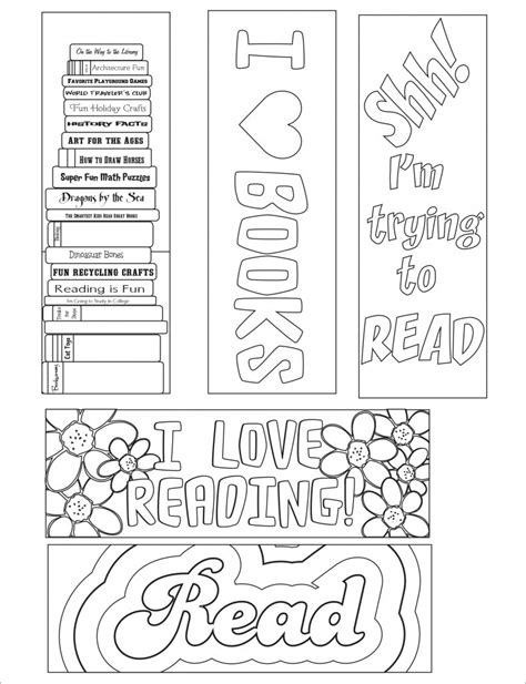 world book day bookmark template blank bookmark template 135 free psd ai eps word