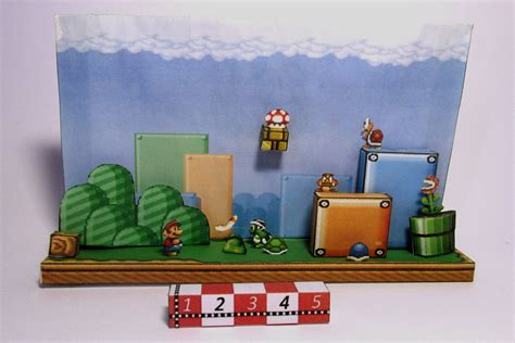 Papercraft Diorama - diorama do mario bros 3 by rafaeltacques on deviantart