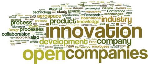 open innovation practices  aerospace industry challenges  opportunities tobias