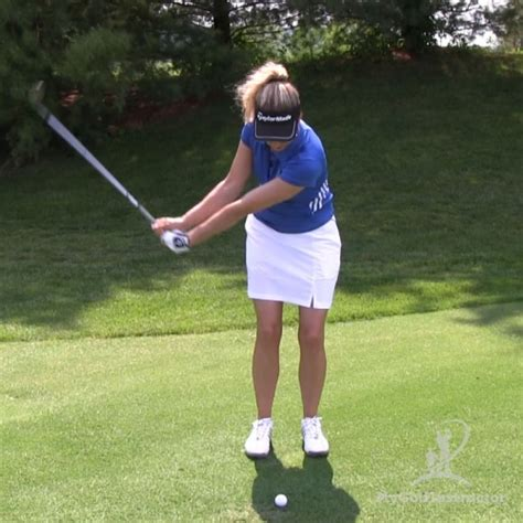pitch swing the basic pitch shot my golf instructor