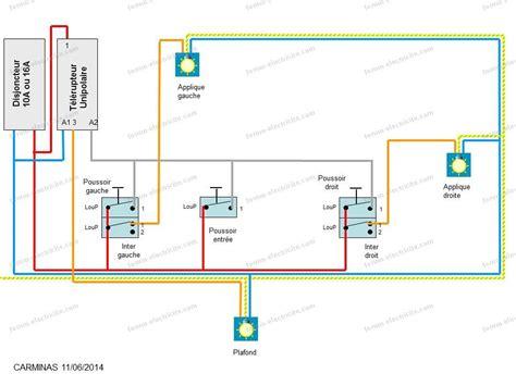 schema electrique chambre sch 233 ma 233 lectrique branchement 233 clairage chambres