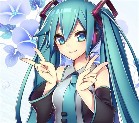 Kaos Anime Vocaloid Hatsune Miku Peace 70 best images about miku hatsune on