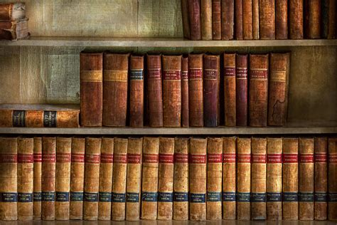 Wood And Metal Wall Decor Lawyer Books Law Books Photograph By Mike Savad