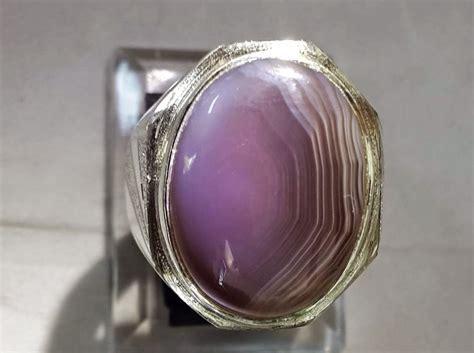 batu lavender motif bunda 10 khasiat batu akik lavender yang bagus