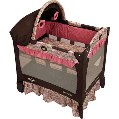 portable baby bed walmart get the graco travel lite portable crib for less at walmart com save money live