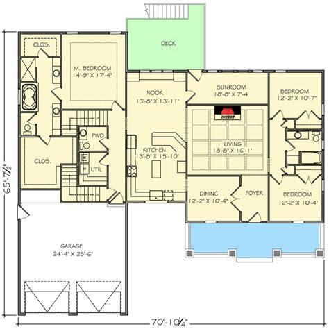 1st floor house plan house plans 1st floor master house plans