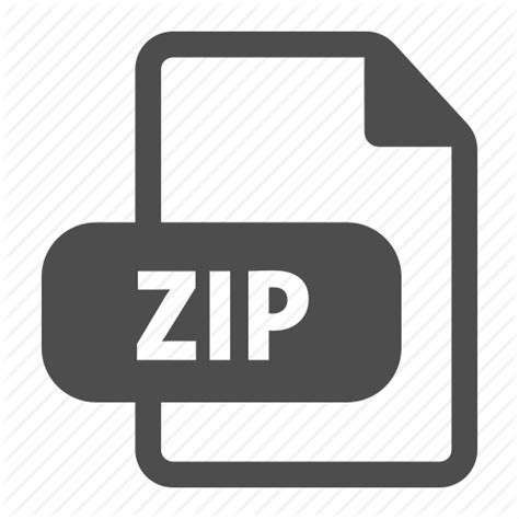 video file format archive archive compression extension file format zip icon
