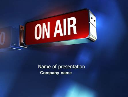 live themes for ppt live broadcast powerpoint template backgrounds 04285