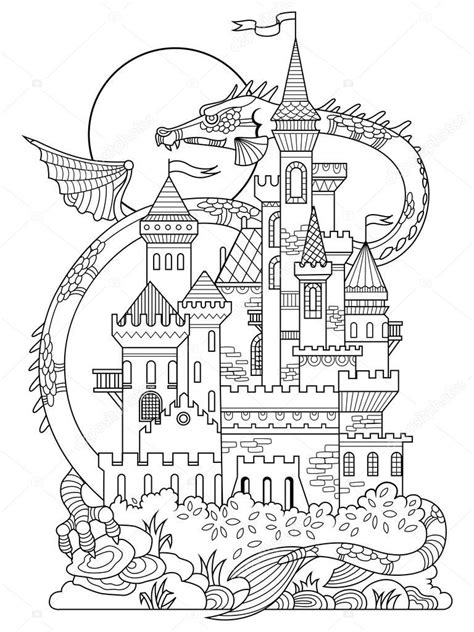 Dragon Coloring Book Pagesll L