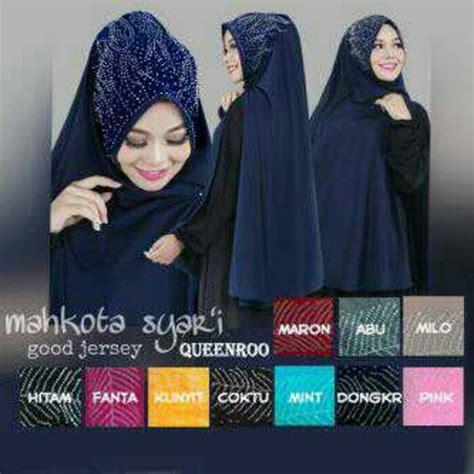 Mahkota Syari by Grosirjilbab Mahkota Syar I Produksi Di Kota Bandung