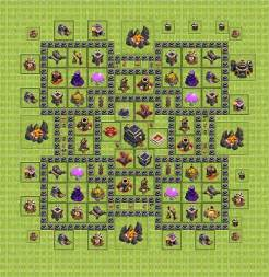 Best clash of clans th 9 trophy base car pictures