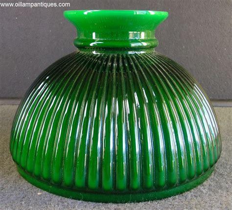 vintage green oil l antique oil kerosene green glass finger l from nan