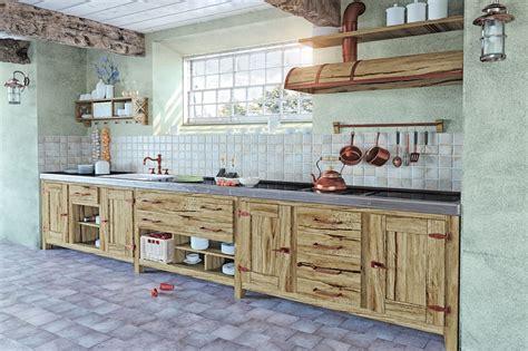 cucina in muratura immagini cucine in muratura moderne country rustiche o shabby