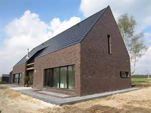 barn inspired homes unusual barn inspired house by netherlands spot architecture 2