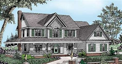 House Plans With Basements And Wrap Around Porch by Plan 6541rf Wrap Around Porch Porch House And Walkout
