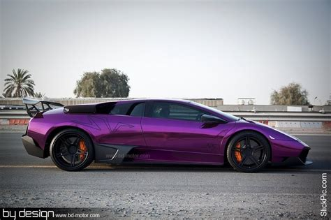 Lamborghini Purple Chrome Matte Purple Lamborghini Lp 670 4 Sv Becomes Chrome Purple