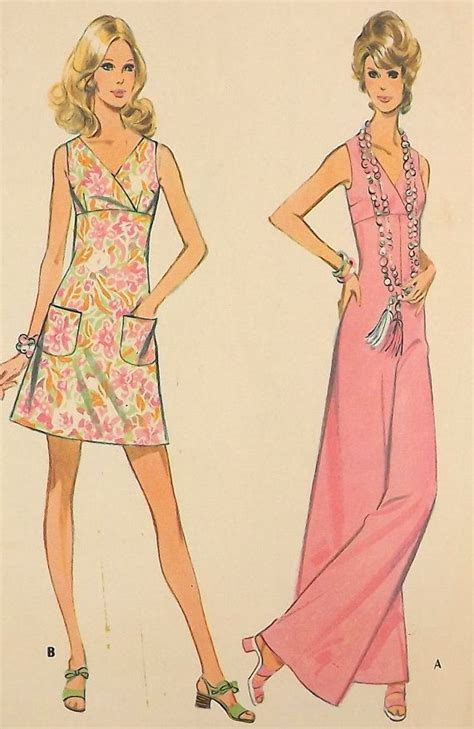 jumpsuit patterns for juniors vintage 70 s sewing pattern dress and jumpsuit size 13