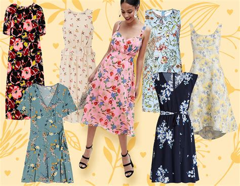 vestiti estivi a fiori vestiti corti estivi a fiori abiti in pizzo