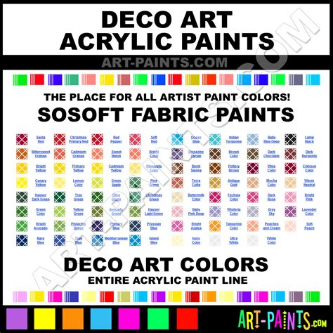 decoart sosoft fabric acrylic paint colors decoart sosoft fabric paint colors sosoft fabric
