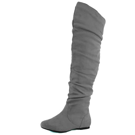womens slouch the knee comfortable mid calf thigh