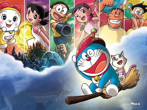 doraemon wallpaper doraemon cartoon images doraemon and friends wallpapers 2015 wallpaper cave